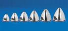 Aluminiums spinner 2-bladet Ø45mm